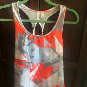NWOT Under Armour Fly By 2.0 Mesh Tank Top